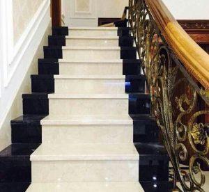 Lát đá cầu thang biệt thự