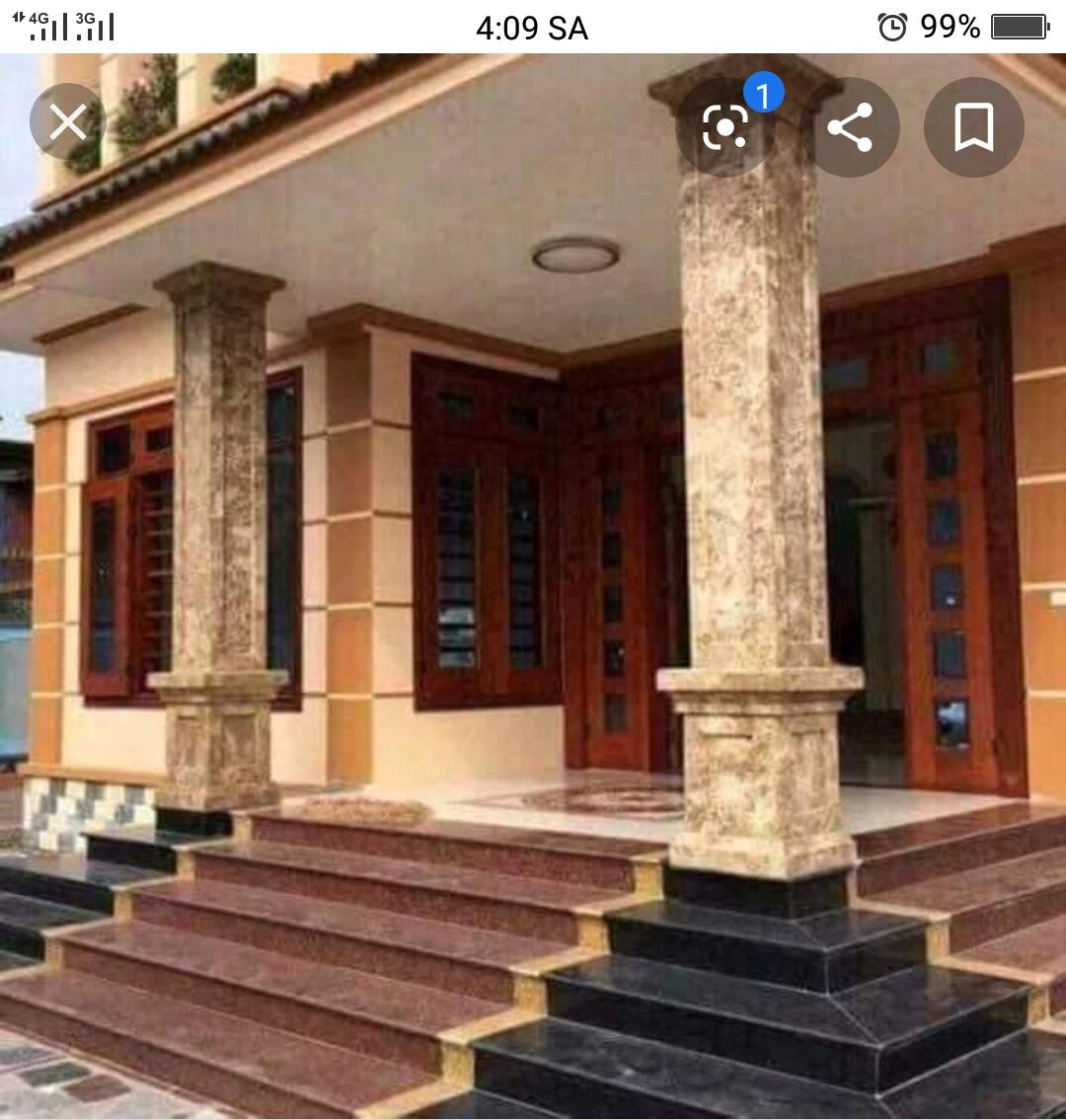 Công trình ốp đá Biệt Thự Chị Quỳnh Quận 2, Hồ Chí Minh